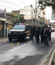 PNC efectúa investigación para dar con los responsables. (Foto Prensa Libre: PNC)