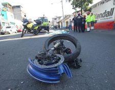 Muchas personas han perdido la vida en accidentes de motocicletas. (Foto Prensa Libre: Hemeroteca PL).