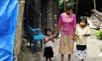 La desnutrición afecta a  varias familias  en Cubulco, Alta Verapaz. (Foto Prensa Libre: Carlos Grave)