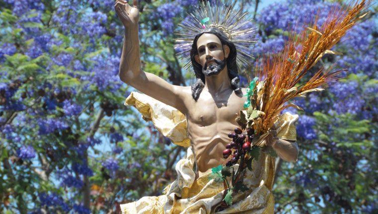 Jesús Resucitado, Parroquia La Merced. (Foto: Néstor Galicia)