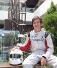 Ian Rodríguez se ha convertido en unas de las jóvenes figuras del automovilismo guatemalteco. (Foto Prensa Libre: Marcela Morales)