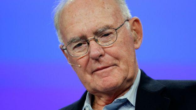 Gordon Moore, el cofundador de Intel, fue quien acuñó la ley que dicta el ritmo de la revolución digital. JUSTIN SULLIVAN/GETTY IMAGES