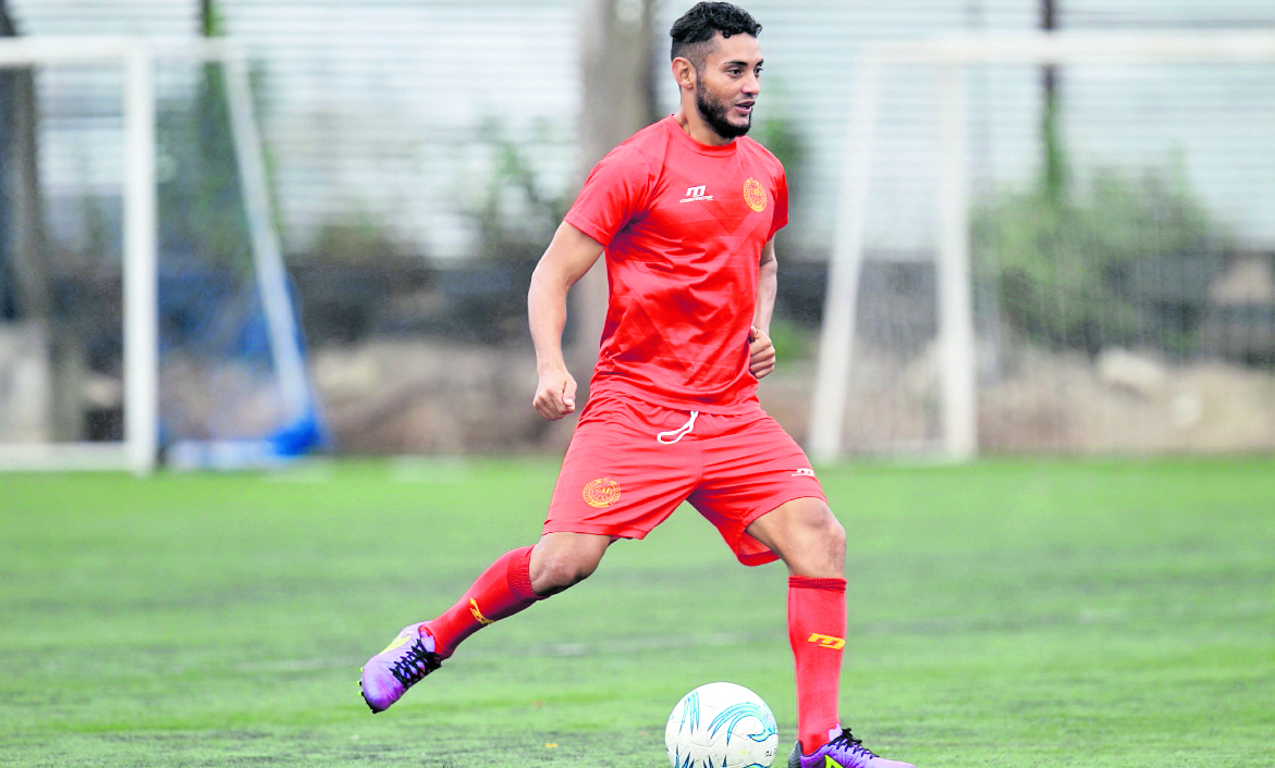 Edi Danilo Guerra se encuentra feliz de poder jugar con Cobán Imperial. (Foto Prensa Libre: Hemeroteca PL)