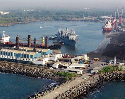 En mayo empezará a operar una ruta marítima entre Puerto Quetzal Escuintla con el puerto de Chiapas México, según los acuerdos entre ambas autoridades,  (Foto Prensa Libre: Hemeroteca)