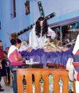 Este año el Señor de las Tres Caídas, de Tecún Umán, San Marcos, recibió  a unos 50 mil romeristas. (Foto Prensa Libre: Édgar Octavio Girón Castillo)