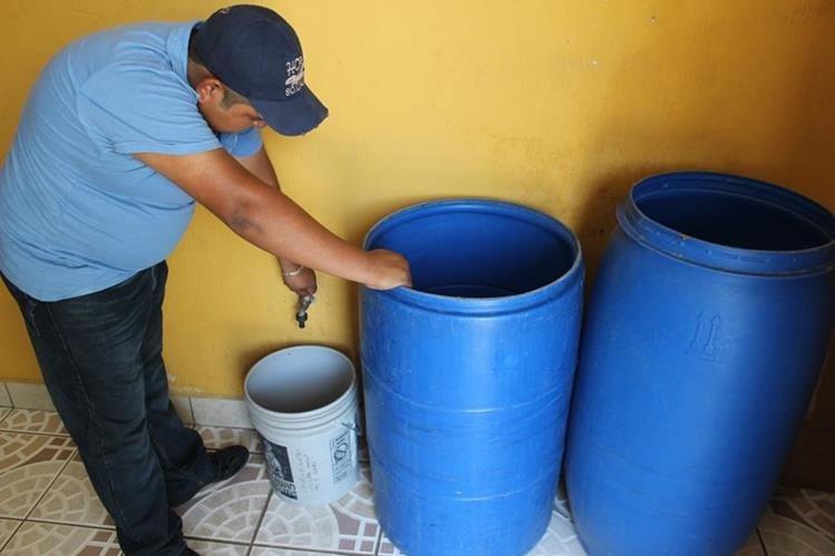 En estas seis zonas capitalinas no habrá agua el 2 de noviembre