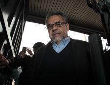 El exdiputado Manuel Barquín debe enfrentar juicio por cuatro delitos. (Foto Prensa Libre: Hemeroteca PL)