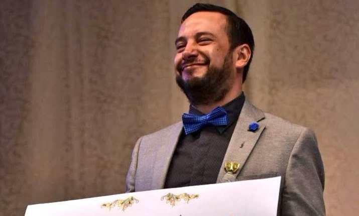 El guatemalteco Estuardo Galdámez fue el ganador en la rama de Teatro. (Foto Prensa Libre: Fred Rivera)