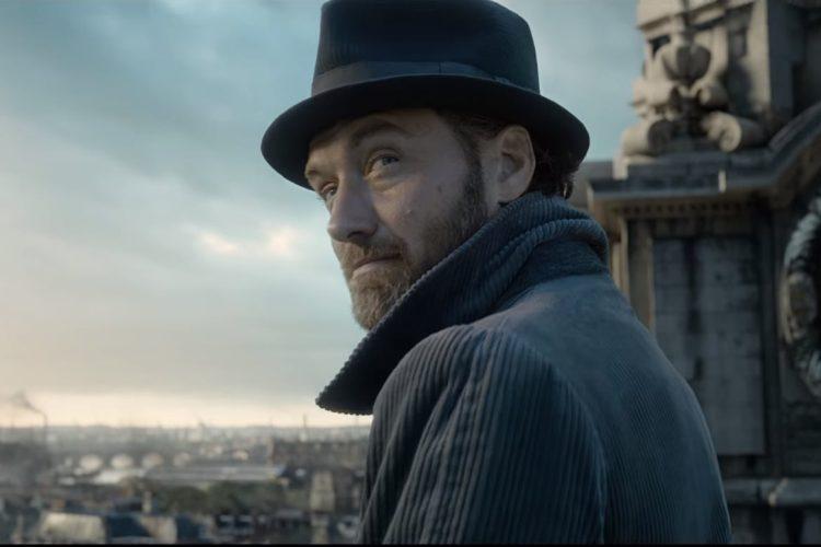 Jude Law dará vida a una versión joven de Albus Dumbledore