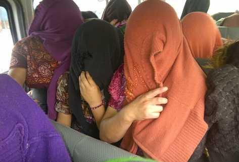 Las víctimas son resguardadas por la Procuraduría General de la Nación (PGN). (Foto Prensa Libre: Estuardo Paredes)