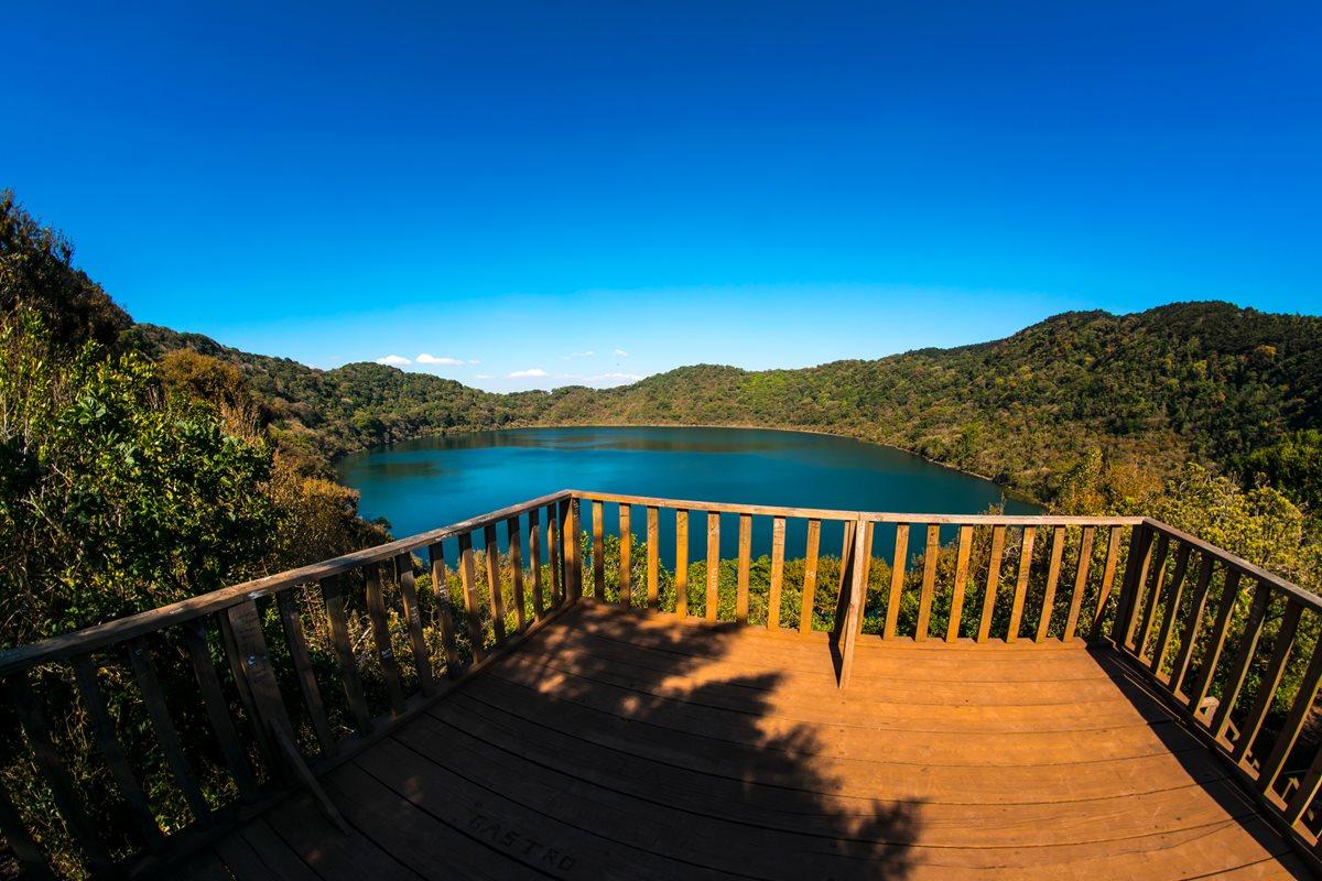 Laguna de Ipala, Chiquimula. (Foto Prensa Libre: Cortesía Inguat)