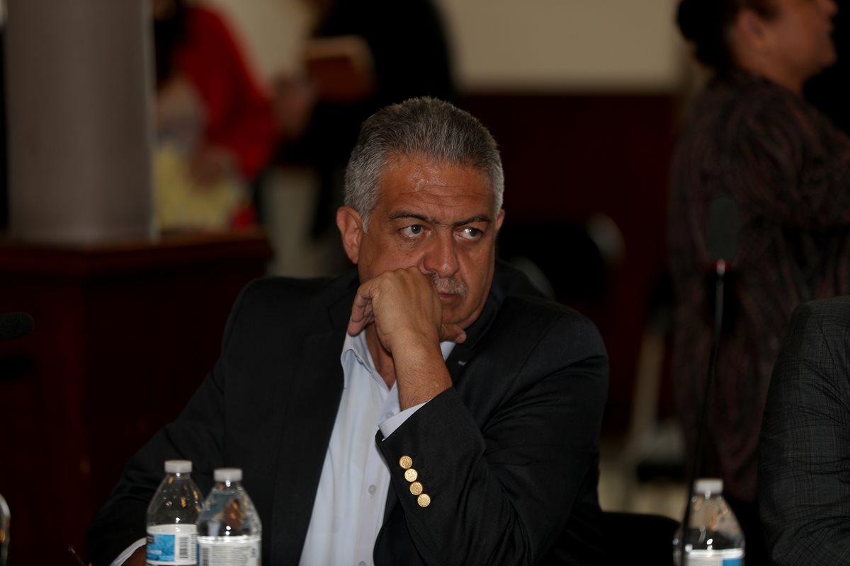 Jorge Mario Véliz, fue citado por la Comisión de Deportes del Congreso, el jueves pasado. (Foto Prensa Libre: Carlos Vicente)