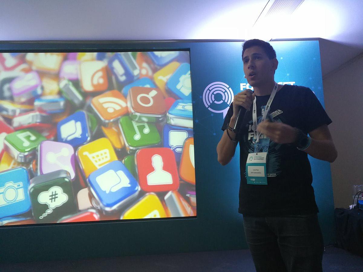 Las redes sociales como amenazas de dispositivos móviles