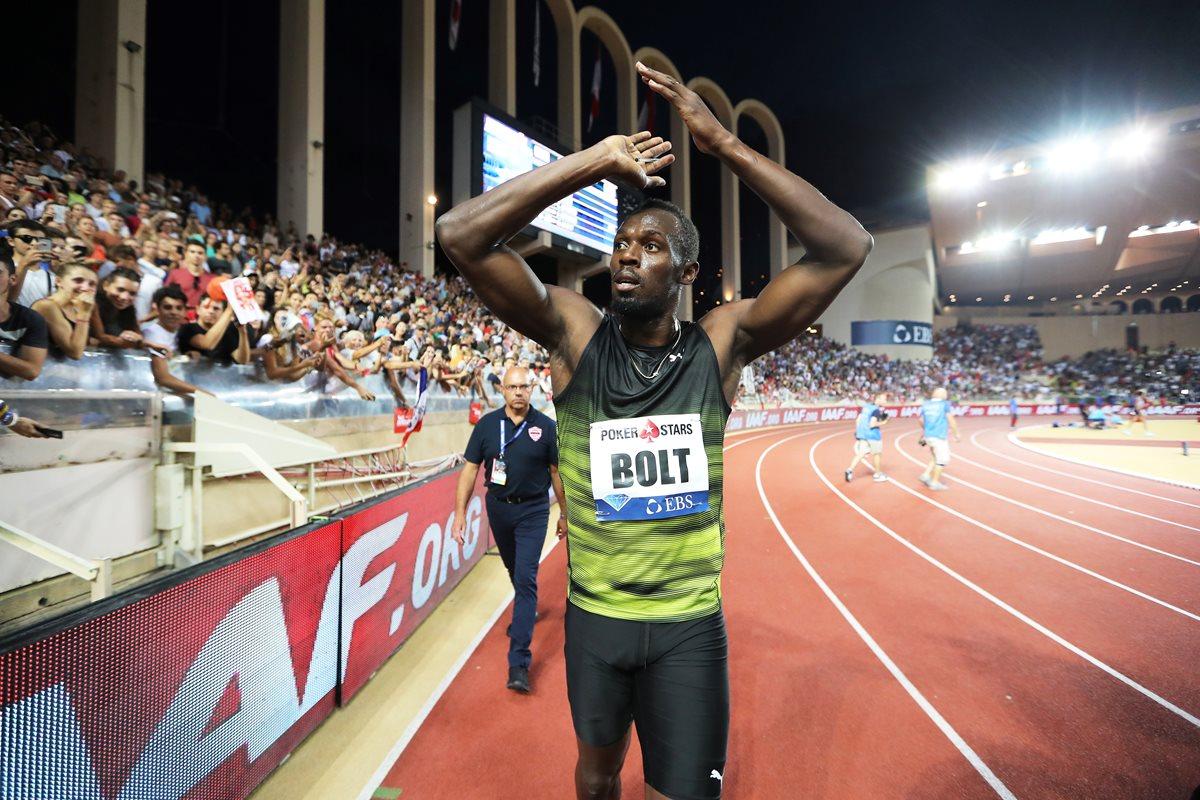 El velocista Usain Bolt se encuentra a las puertas de la recta final de su carrera