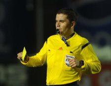 Deportivo Sanarate cuestiana el arbitraje de Jonathan Polanco (Foto Prensa Libre: Hemeroteca PL)