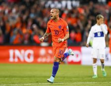 Sneijder sería la contratación estrella del Niza en la Ligue 1. (Foto Prensa Libre: Hemeroteca)