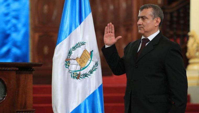 Ejecutivo nombra al abogado y notario Jorge Luis Donado Vivar, Procurador General de la Nación. (Foto Prensa Libre: Carlos Hernández)