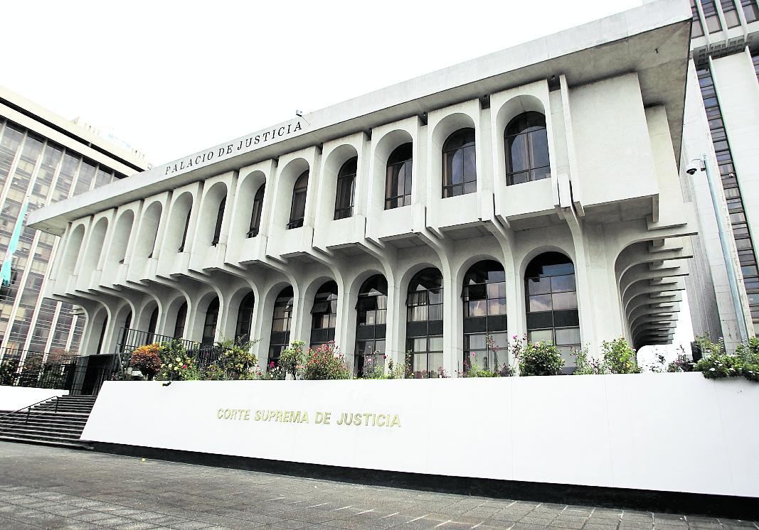 Reportaje sobre las distintas instalaciones  del Organismo Judicial (OJ y  la Corte Suprema  de Justicia (CSJ),  En la imagen, Fachada de la Corte Suprema de Justicia.(CSJ)   FOTO: Álvaro Interiano.  Guatemala, octubre 23 de 2014.