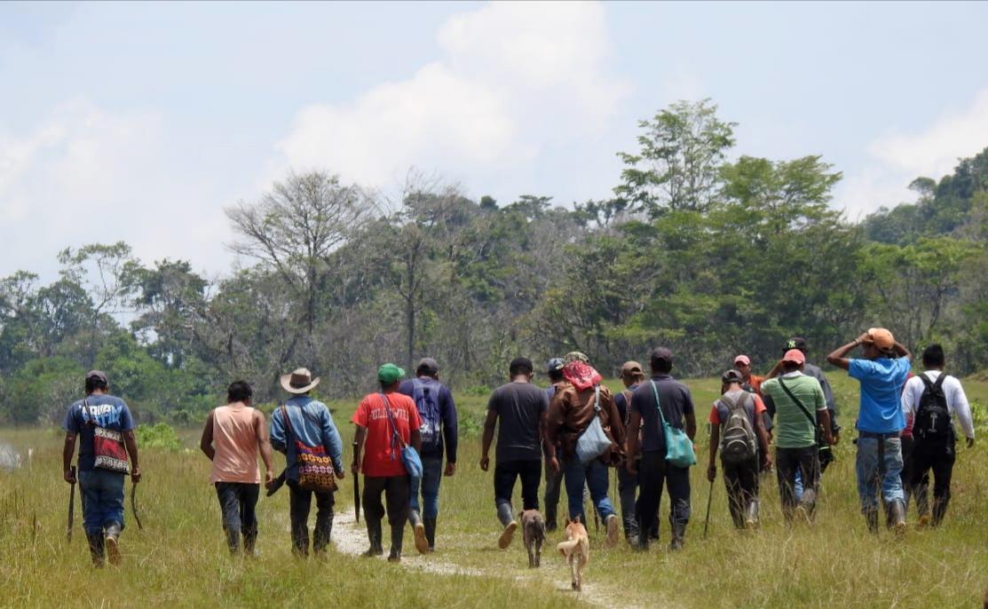 Pobladores de la región de Ixquisis, Huehuetenango, se oponen al trabajo de las hidroeléctricas. (Foto Hemeroteca PL)