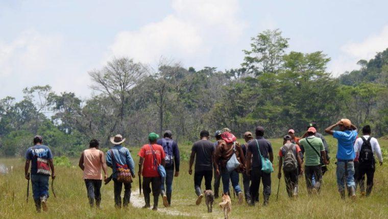 Pobladores Ixquisis, Huehuetenango han mostrado rechazo a proyectos hidroeléctricos. (Foto Prensa Libre: Hemeroteca)