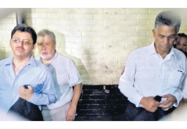 Omar Franco, Javier Ortiz y Carlos Muñoz fueron los primeros capturados el 16 de abril de 2015. (Foto: Hemeroteca PL)