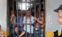 En la prisión de Jalapa, donde los reos están hacinados, se registraron cuatro motines el año pasado. (Foto Prensa Libre: Hemeroteca PL)