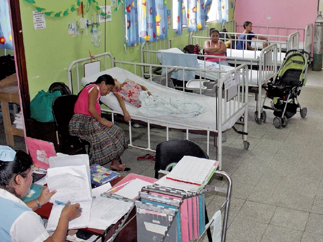 El 80% de niños del área rural está desnutrido