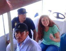 Astrid Lucía Samayoa Morales, de 19 años, estudiante de la Usac, localizada en Izabal por la Policía Nacional Civil. (Foto Prensa Libre: PNC)
