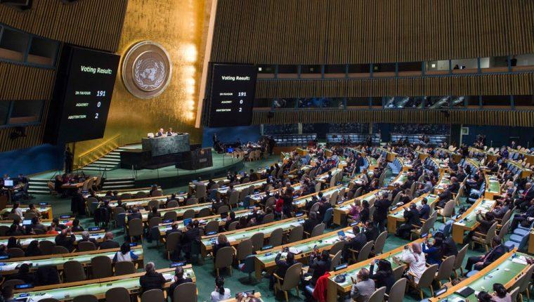 "El primer ministro israelí Benjamín Netanyahu llamó ""casa de mentiras"" a la ONU. (Foto Prensa Libre: Hemeroteca PL)"