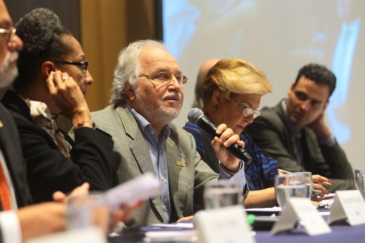 La CIDH presenta informe de país después de su visita in loco a Guatemala. (Foto Prensa Libre: Álvaro Interiano)