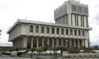 La Corte Suprema de Justicia oficializó los descansos de fin de año para los jueces, los magistrados y el personal administrativo. (Foto Prensa Libre: Hemeroteca)