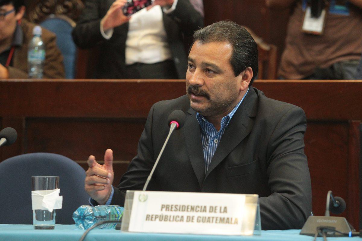 Abogado de Pérez Molina acciona contra pesquisidora ante la CC