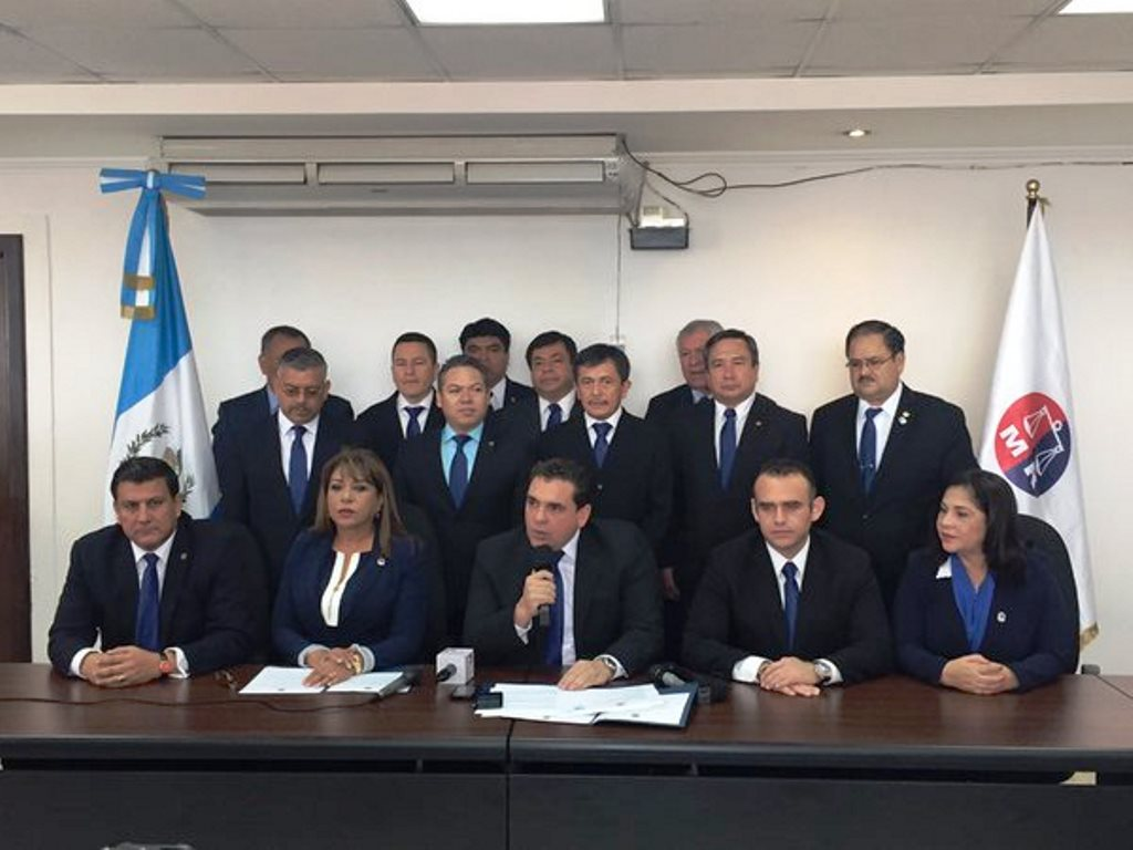 La presentación oficial de la bancada Movimiento Reformador se llevó a cabo el 8 de enero del 2016. (Foto Prensa Libre: Hemeroteca PL)