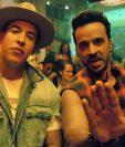 Daddy Yankee y Luis Fonsi en el video del tema Despacito. (Foto Prensa Libre: YouTube)
