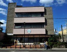 Sede del Parlacen, ubicada en la zona 5 capitalina. (Foto Prensa Libre: AFP/Archivo).