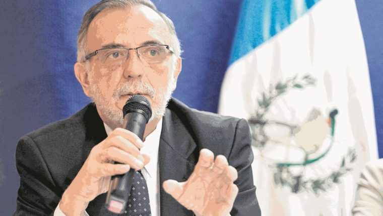 Iván Velásquez, Comisionado Internacional Contra la Impunidad en Guatemala. (Foto Prensa Libre: Hemeroteca PL).