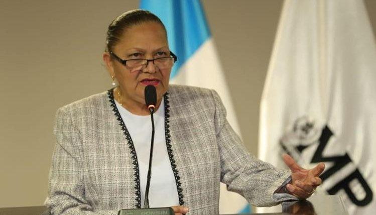 María Consuelo Porras,  fiscal General y jefa del Ministerio Público. Hemeroteca PL)