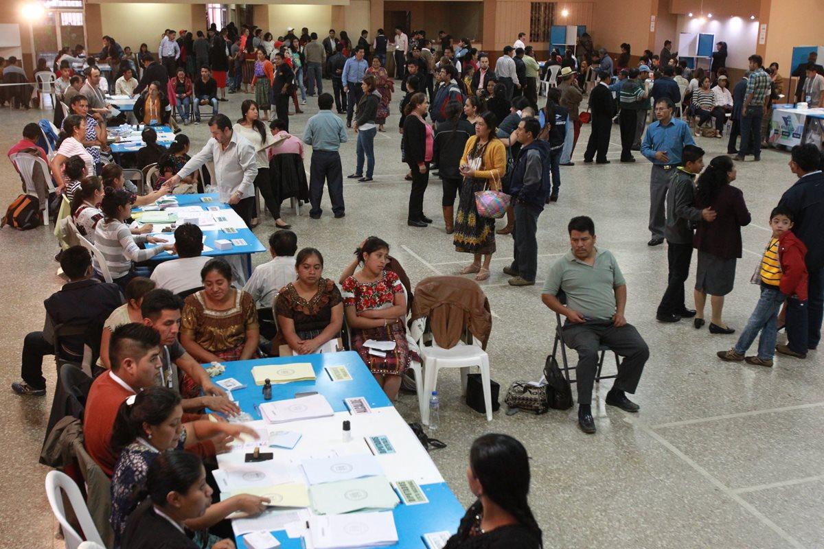 La campaña electoral arranca el 18 de marzo y termina el 14 de junio. (Foto Prensa Libre: Hemeroteca PL)