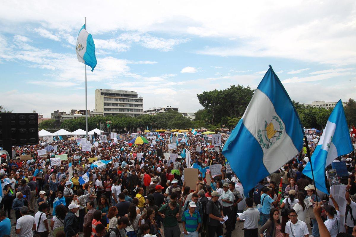 Guatemaltecos unidos, no fueron vencidos