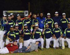 Este fue el último equipo que se coronó bicampeón del béisbol nacional. (Foto Prensa Libre: cortesía Fedebeis)