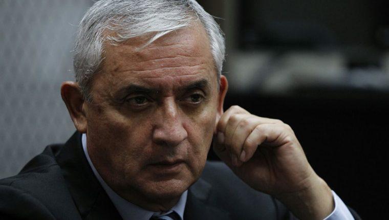 El presidente Otto Pérez Molina enfrenta varios casos de corrupción. (Foto Prensa Libre: Hemeroteca PL)