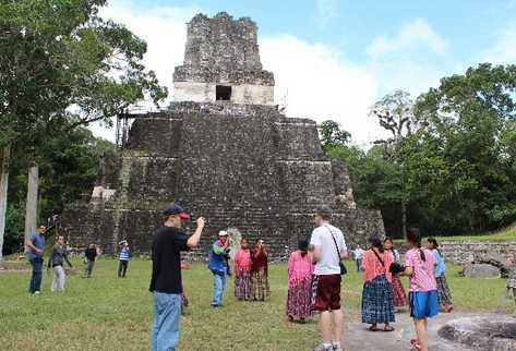 Tikal es uno de sitios arqueológicos más visitados