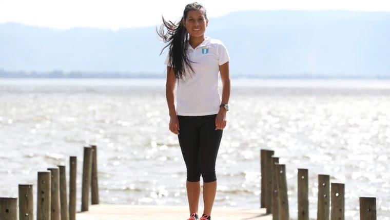 Merlin Chalí buscará destacar en los Juegos Centroamericanos y del Caribe en Barranquilla 2017. (Foto Prensa Libre: Jorge Ovalle)