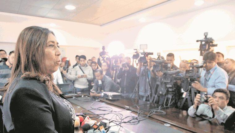 La juramentación de Ordóñez provocó críticas y señalamientos al presidente Jimmy Morales. (Foto Prensa Libre: Hemeroteca PL)