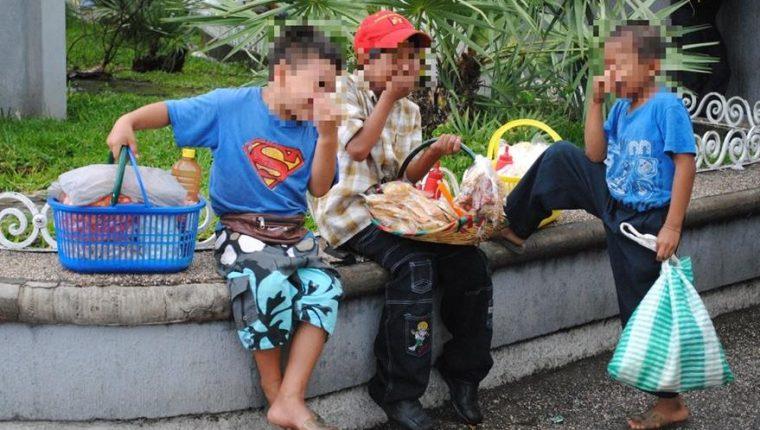 Casi la mitad de la población del país no tiene mayoría de edad y tienen limitado acceso a servicios públicos. (Foto Prensa Libre: Hemeroteca PL)