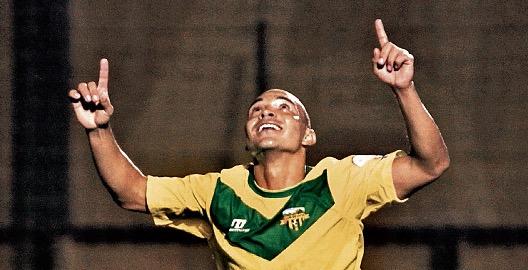 Janderson Pereira abrió la cuenta en el partido Petapa - Siquinalá. (Foto Prensa Libre: Hemeroteca PL)