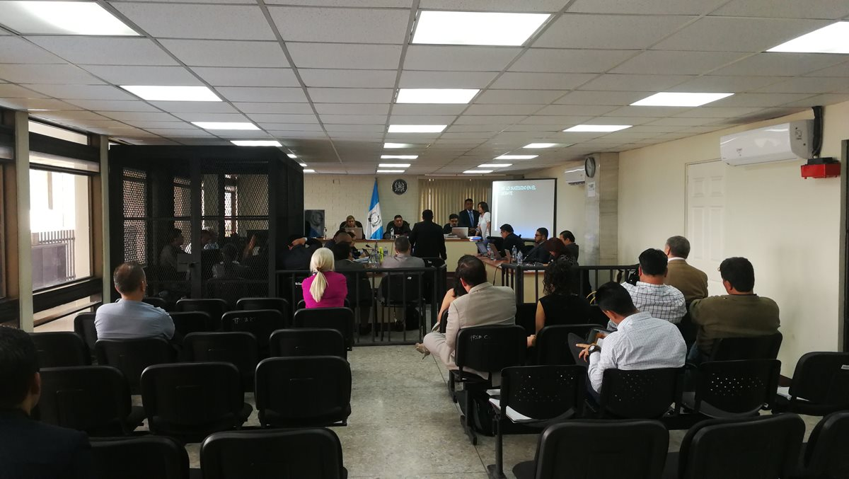 El Tribunal de Mayor Riesgo C terminó de escuchar las conclusiones de la defensa. (Foto Prensa Libre: Kenneth Monzón)