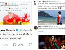 Los veteranos y juveniles de la Selección de España mostraron su sentir por la convocatoria a Rusia. (Foto Prensa Libre: Redes sociales)