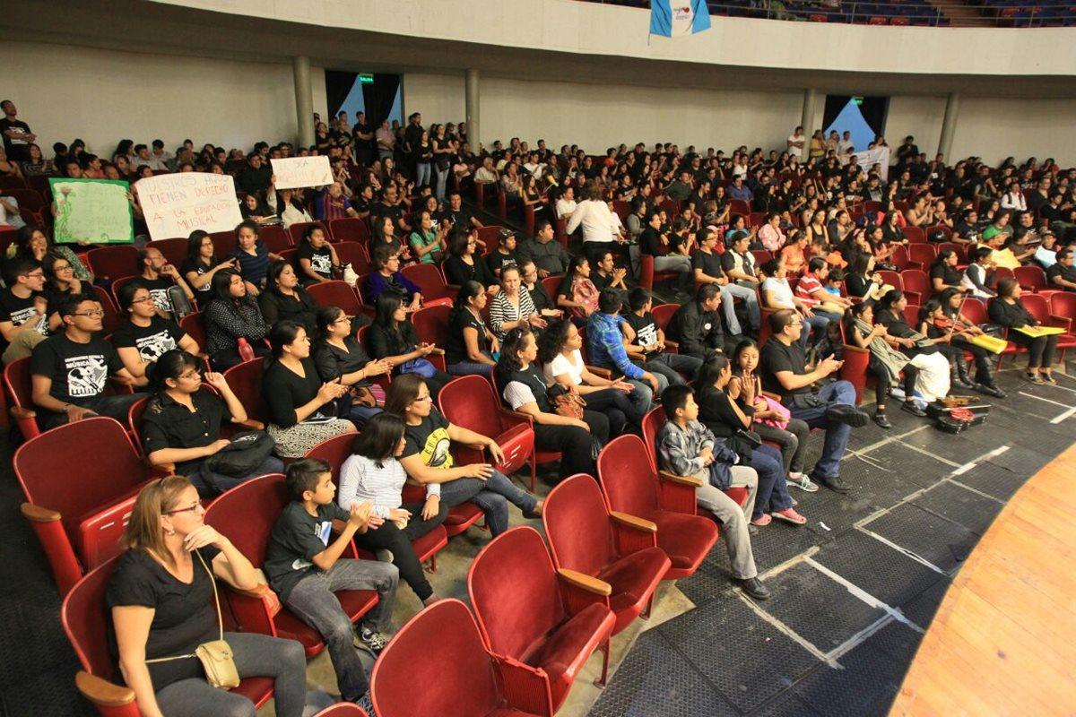 Músicos y padres piden mejoras para Conservatorio