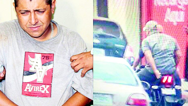 Artemio Ramírez es señalado de ser el principal sospechoso de la muerte de dos periodistas. A la derecha, cuando huían de la escena del crimen.